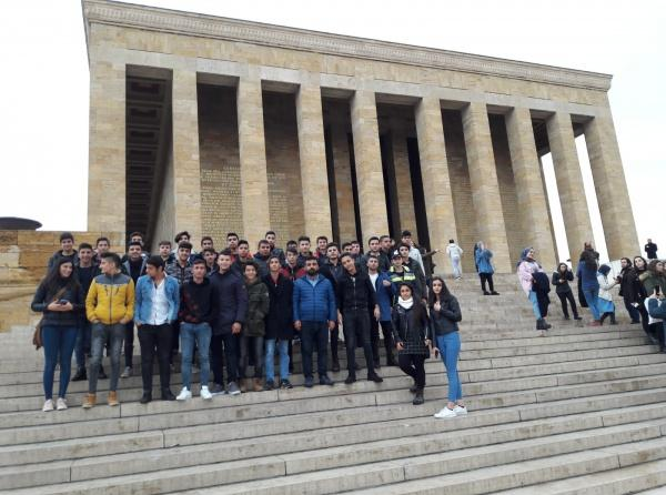 23-25 Kasım 2018 Ankara Üniversite Tanıtım Gezimiz